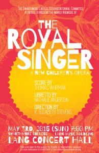 ROYAL SINGER poster