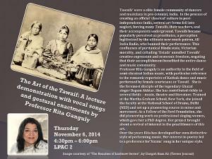 Rita Ganguly Lecture