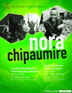Cooper Series nora chipaumire flyer