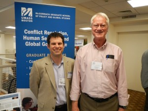 Eben Weitzman '84 and George Lakey
