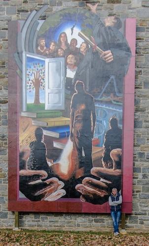 Dee Craig mural