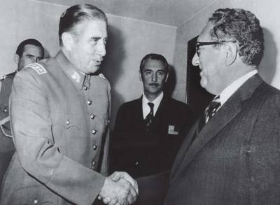 Pinochet and Kissinger