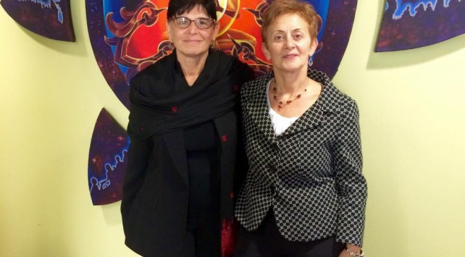 Simona Sharoni and Rabab Abdulhadi