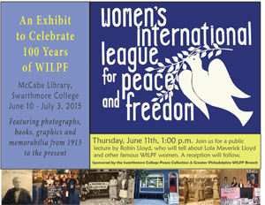 Celebrating 100 Years of the Women's International League for Peace and Freedom, 1915-2015