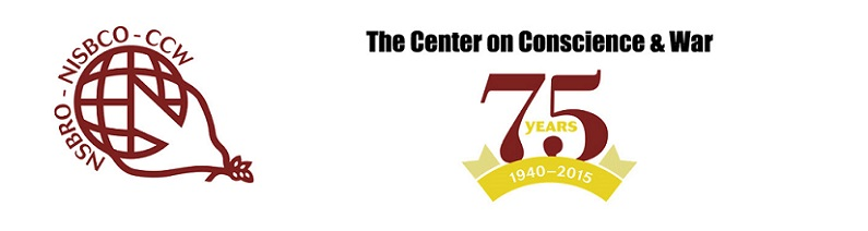 Center on Conscience and War 75th