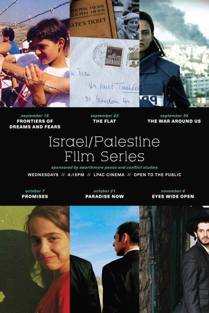 IsraelPalestine Film Series Fall 2015