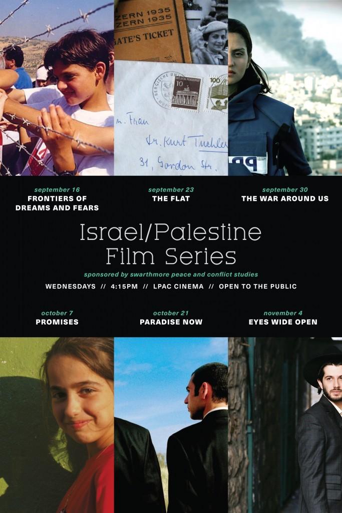 IsraelPalestine Film Series Fall 2015