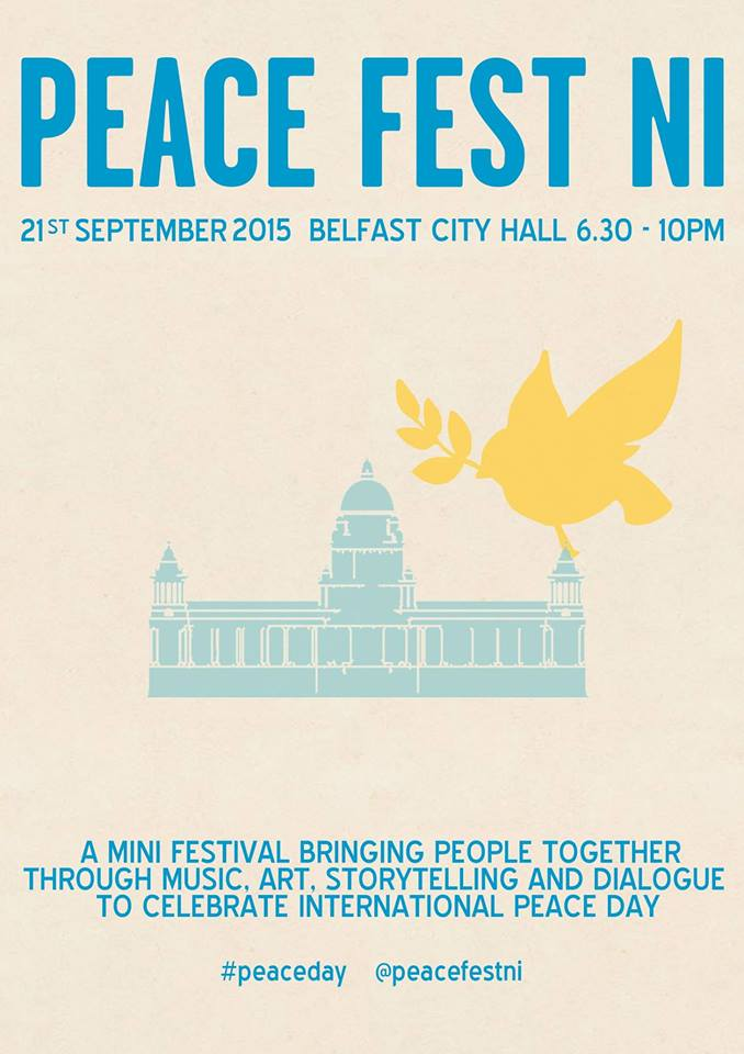 Peace Day Northern Ireland poster