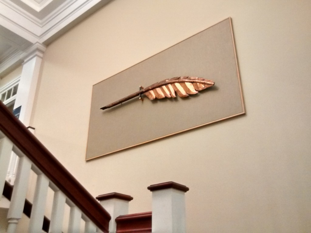 Weathervane in Parrish Hall