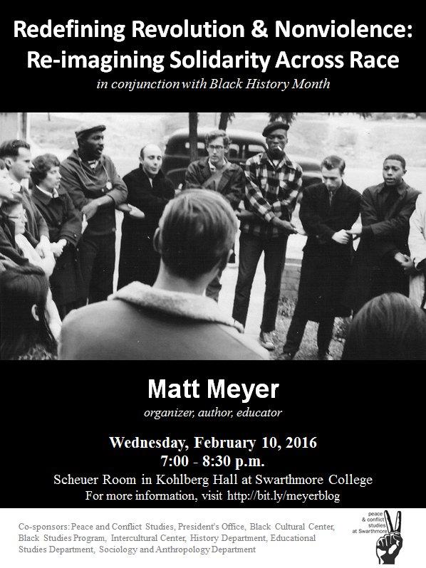 Matt Meyer flyer