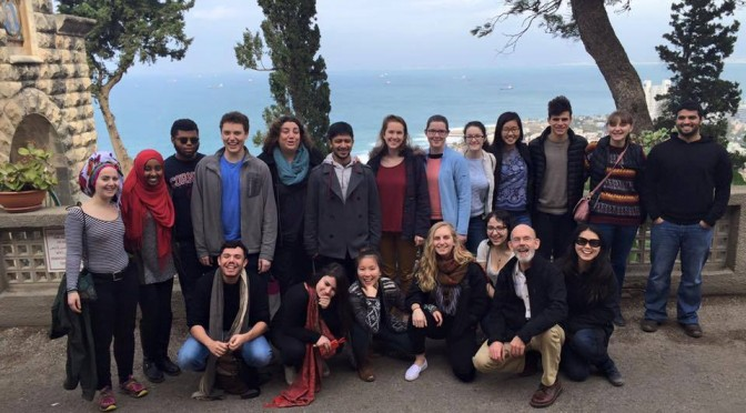 Dismantling the Ivory Tower: Class Takes Field Trip to Palestine and Israel