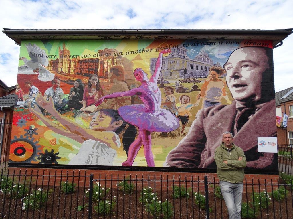 Dee Craig Dreams Mural Belfast 2016