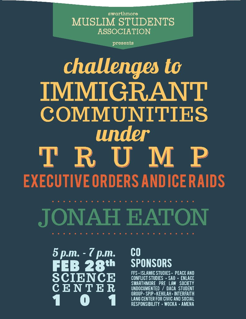 Trump immigration event Spring 2017