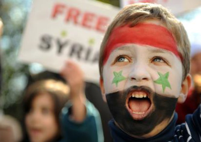 Syrian uprising poster