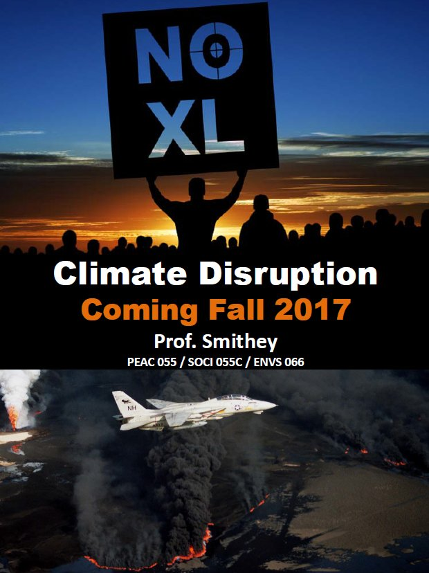 PEAC 055 Climate Disruption flyer F17