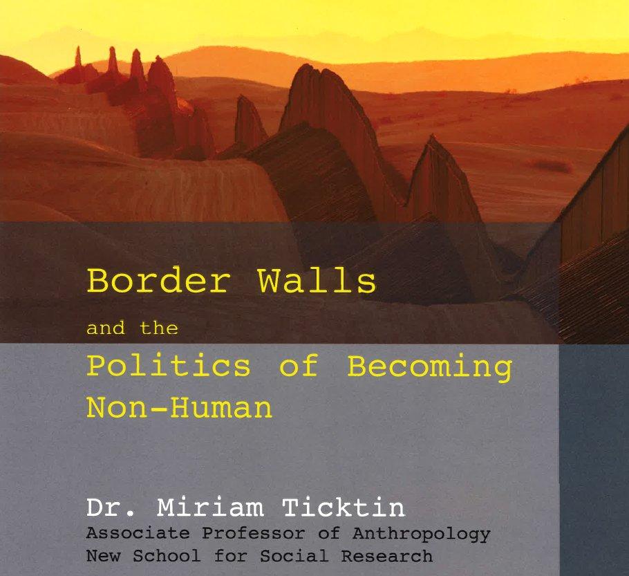 Ticktin on border walls