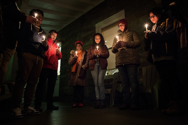 Among this year's events is the annual candlelight vigil at the Black Cultural Center.