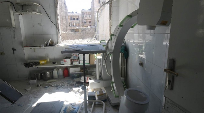 War on Humanity: Healthcare under Attack in the Syrian Conflict