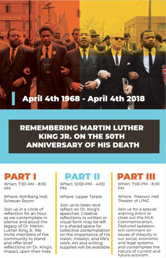 MLK Jr. Event Poster