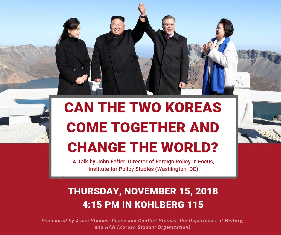 Can the Two Koreas Come Together and Change the World