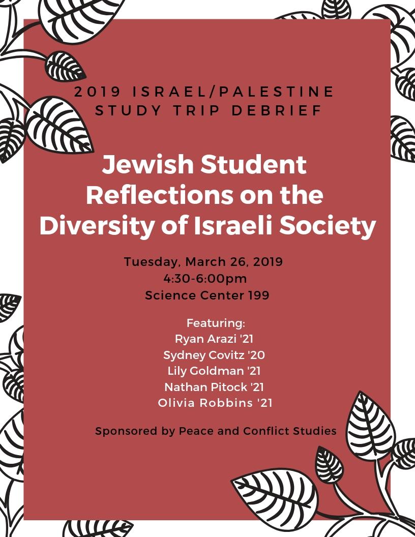 2019 ISRAEL__PALESTINE STUDY TRIP DEBRIEF (1)