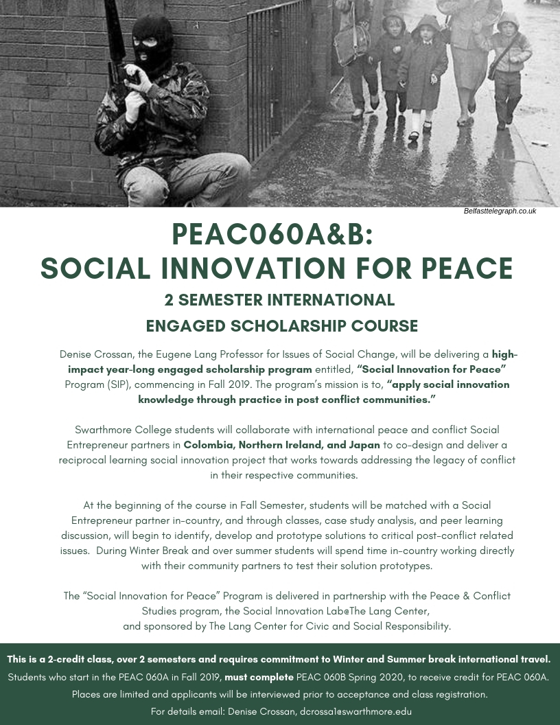 PEAC 060 A&B_ SociAL Innovation For PEACE