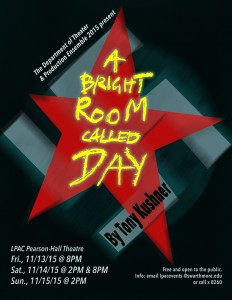 Poster Bright Room Called Day