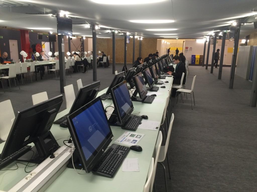 COP21 press area