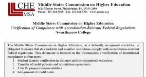 Middle States Federal Regulation Form