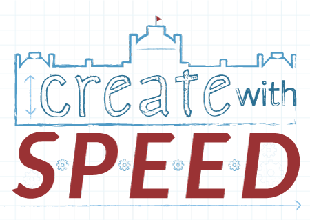 Create with SPEED logo