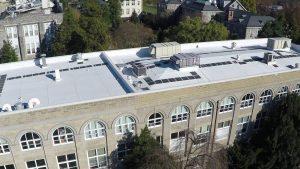 Beardsley Hall roof