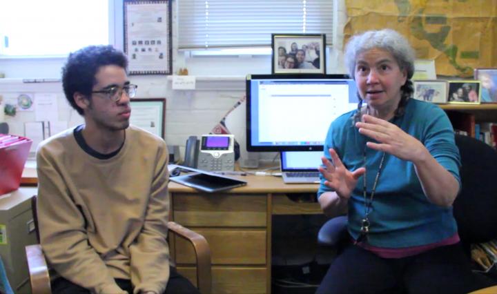 Donna Jo Napoli and Julian Turner discuss the e-book project