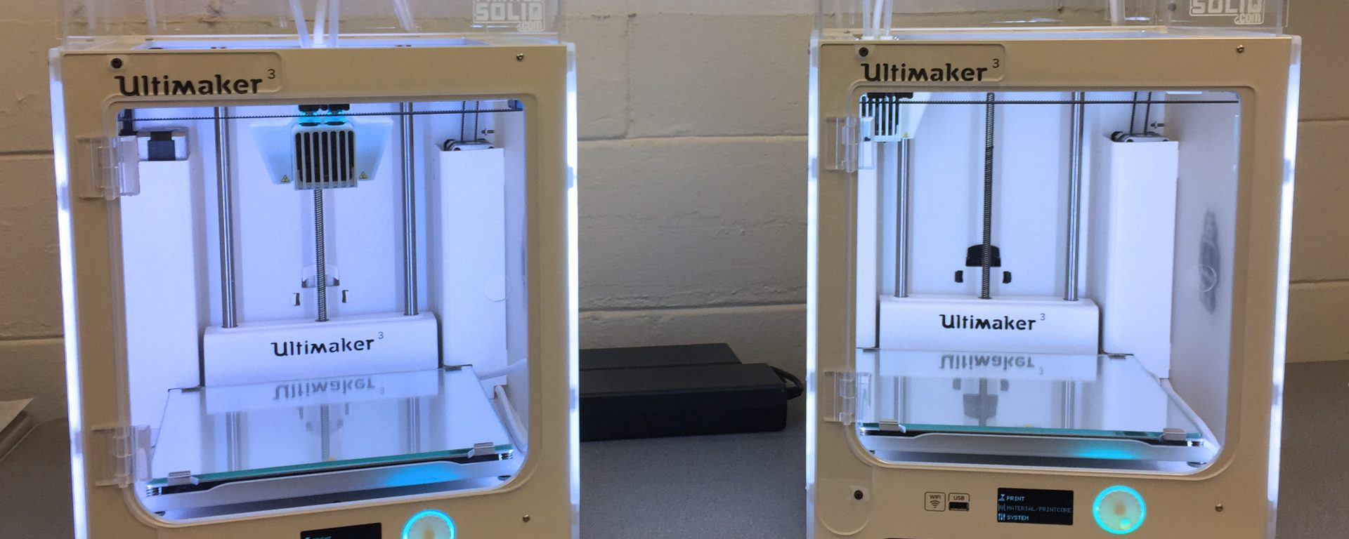 Two Ultimaker 3 - 3D printers