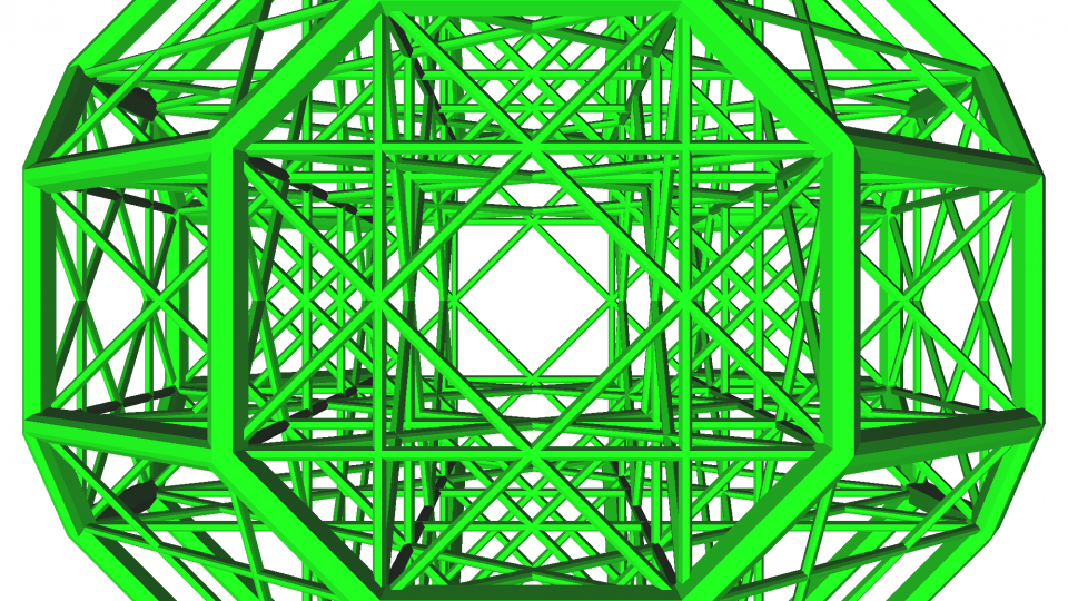 Image of algebraic reflection Weyl Group B3