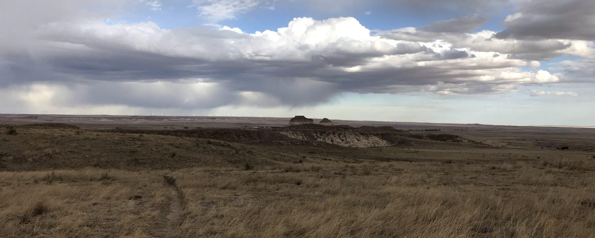 Vast prairie east of Denver, Colorado