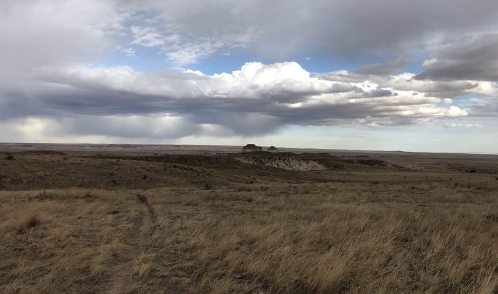 Vast prairie east of Denver, Colorado