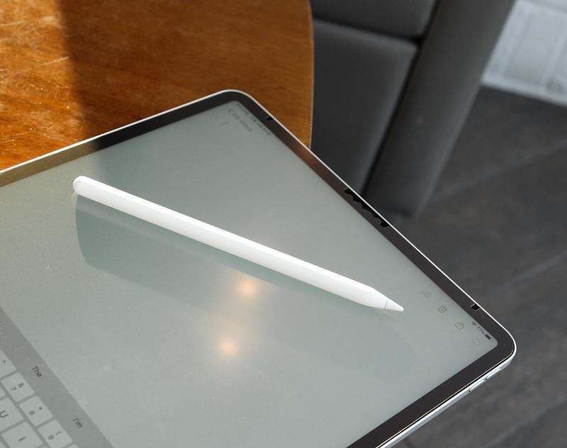 iPad Pro with stylus