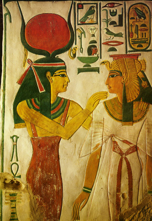 Hathor and Nefertari