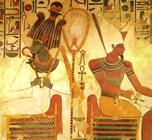 Osiris and Atum